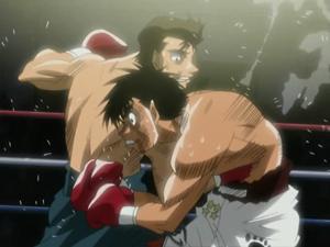 Hajime no ippo sawamura over the top villain